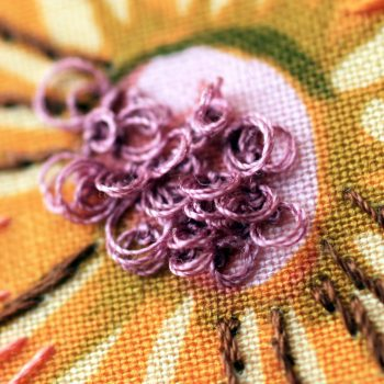 french knot course hand embroidery